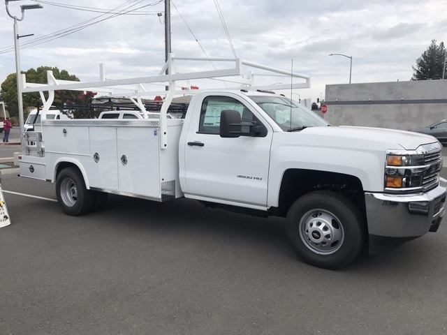 2017 Silverado 3500 Regular Cab DRW 4x2,  Royal Service Combo Body #CF9871 - photo 16