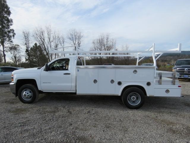 2017 Silverado 3500 Regular Cab DRW 4x2,  Royal Service Combo Body #CF9871 - photo 5