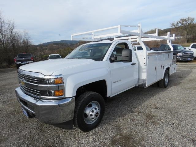 2017 Silverado 3500 Regular Cab DRW 4x2,  Royal Combo Body #CF9872 - photo 1