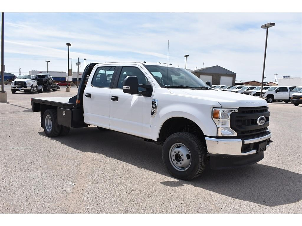 2021 Ford F-350 Crew Cab DRW 4x4, CM Truck Beds Platform Body #114177 - photo 1