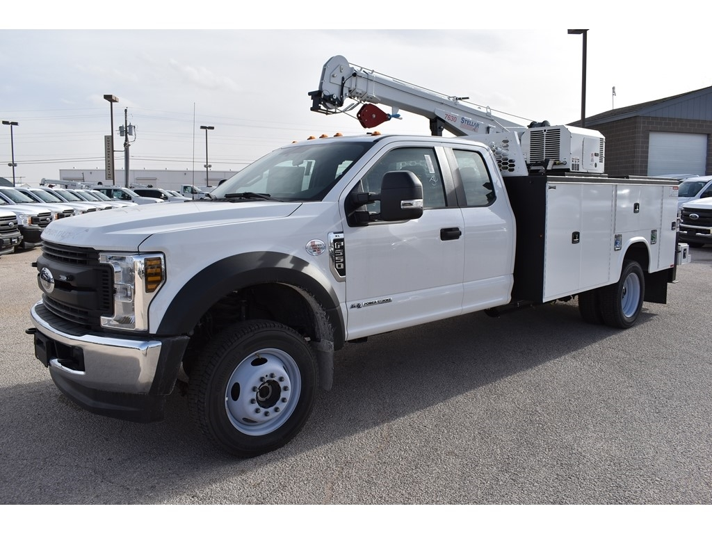 2019 Ford F-550 Super Cab DRW 4x4, Knapheide KMT Mechanics Body #903590 - photo 4