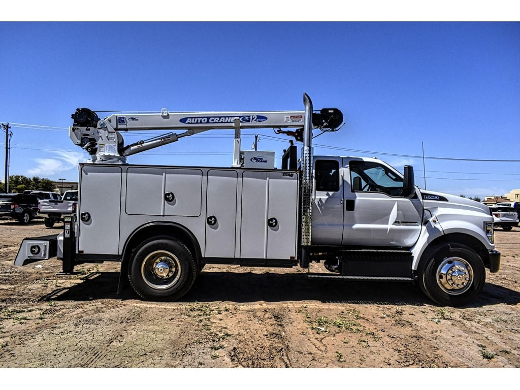 2019 Ford F-750 Super Cab DRW 4x2, Auto Crane Titan Mechanics Body #912501 - photo 8