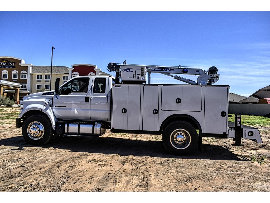 2019 F-750 Super Cab DRW 4x2, Auto Crane Titan Mechanics Body #912501 - photo 6