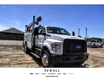 2019 Ford F-750 Super Cab DRW 4x2, Auto Crane Titan Mechanics Body #912501 - photo 1
