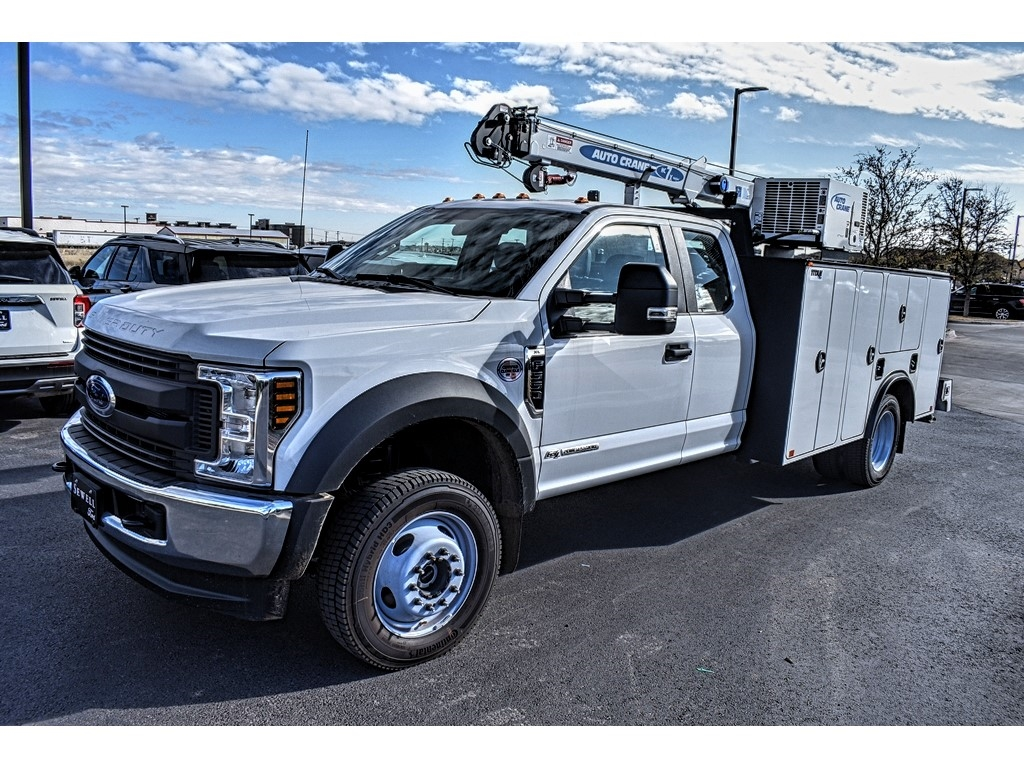 2019 Ford F-550 Super Cab DRW 4x4, Auto Crane Titan Mechanics Body #913099 - photo 4