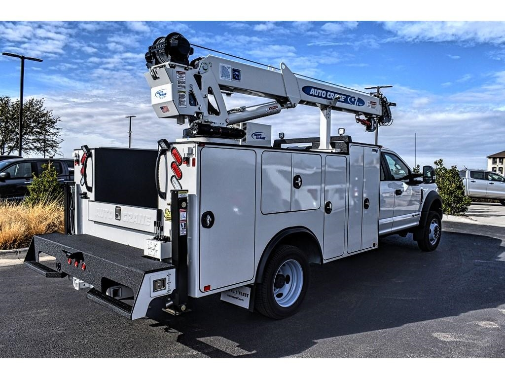 2019 F-550 Super Cab DRW 4x4, Auto Crane Mechanics Body #913099 - photo 1