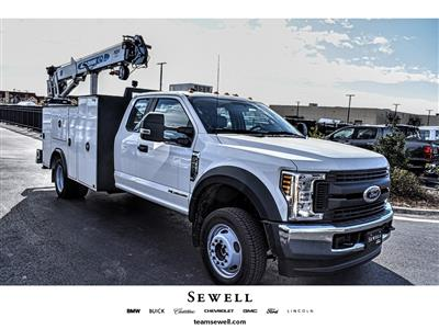 2019 Ford F-550 Super Cab DRW 4x4, Auto Crane Titan Mechanics Body #913099 - photo 1