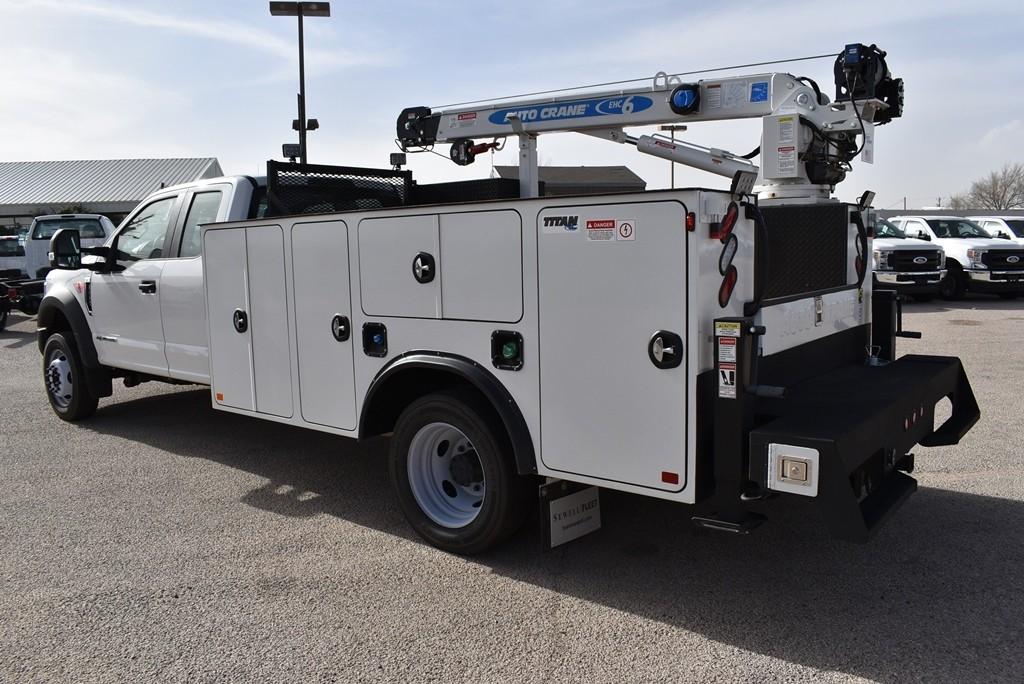 2019 F-550 Super Cab DRW 4x4, Auto Crane Titan Mechanics Body #925043 - photo 7