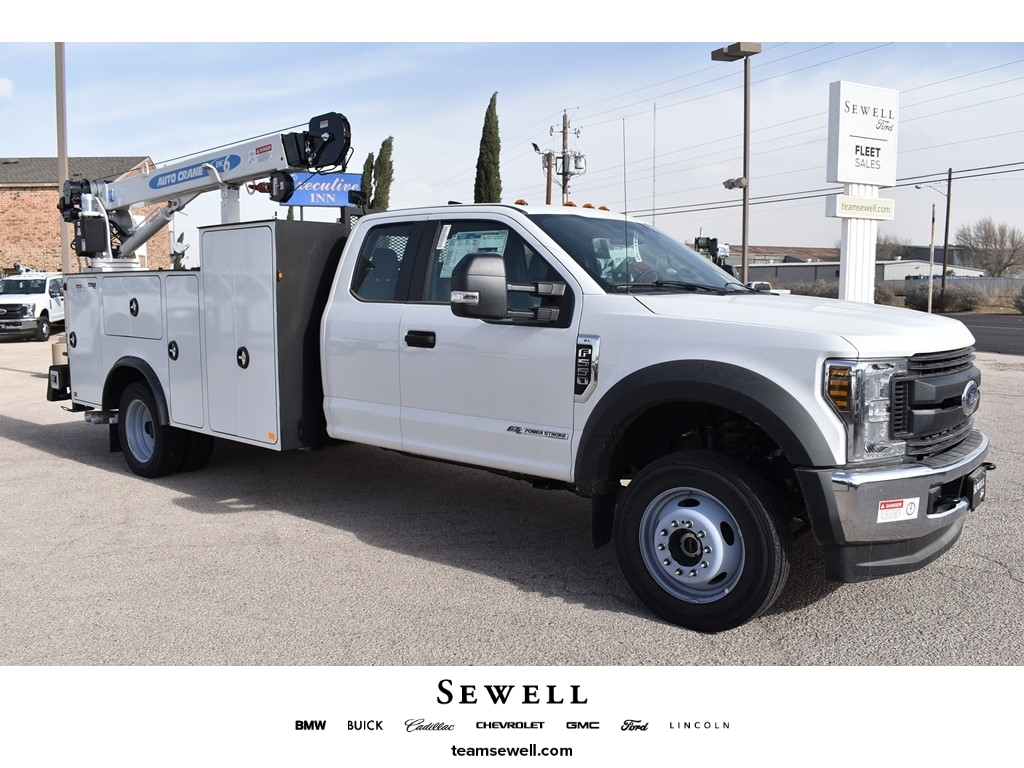 2019 F-550 Super Cab DRW 4x4, Auto Crane Titan Mechanics Body #928816 - photo 1