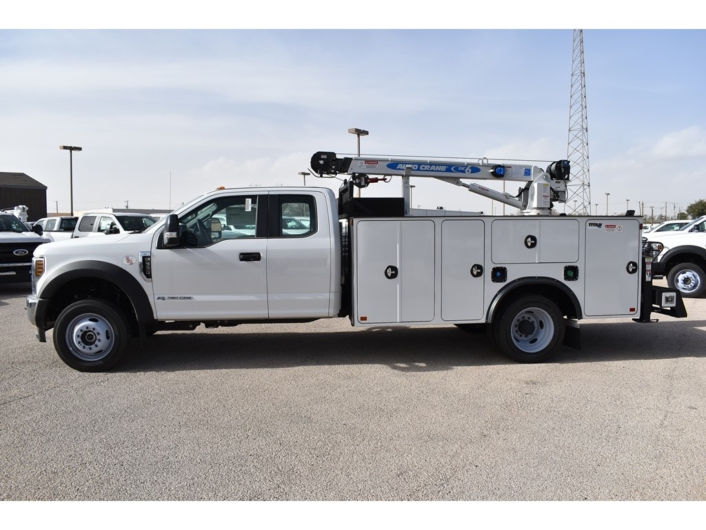 2019 F-550 Super Cab DRW 4x4, Auto Crane Titan Mechanics Body #928816 - photo 6