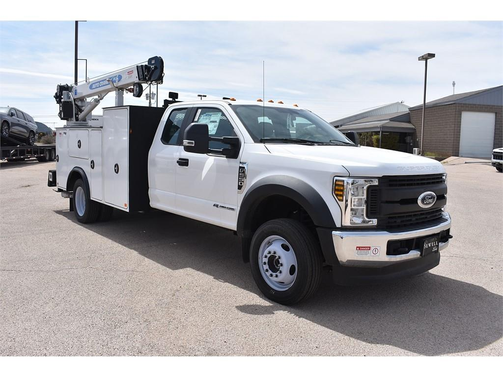 2019 Ford F-550 Super Cab DRW 4x4, Auto Crane Mechanics Body #928816 - photo 1
