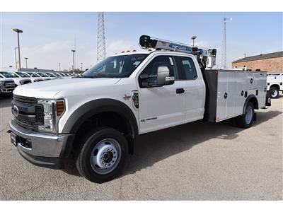 2019 F-550 Super Cab DRW 4x4, Auto Crane Titan Mechanics Body #928816 - photo 4