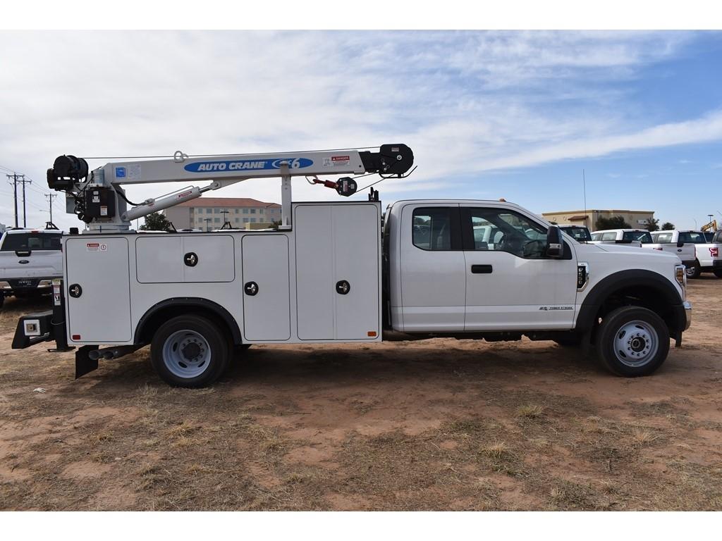 2019 Ford F-550 Super Cab DRW 4x4, Auto Crane Titan Mechanics Body #928817 - photo 8