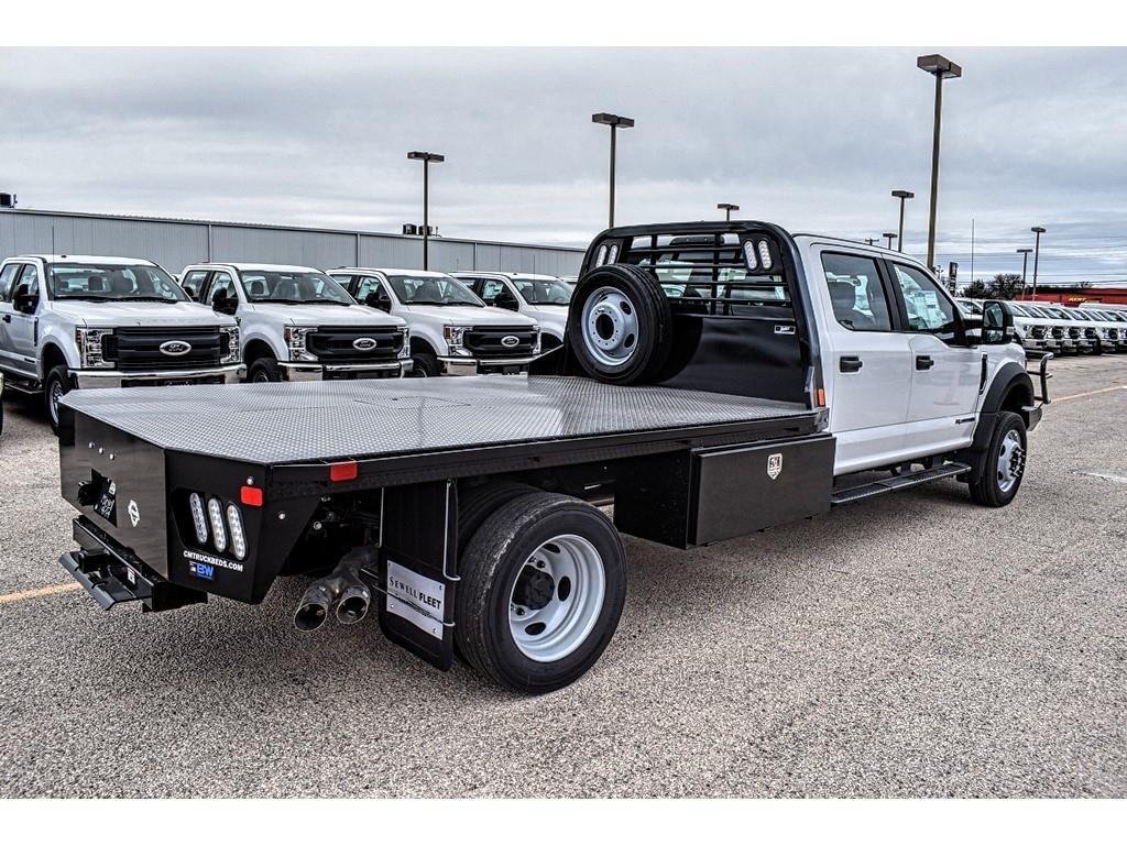 2019 F-550 Crew Cab DRW 4x4, CM Truck Beds Platform Body #955489 - photo 1