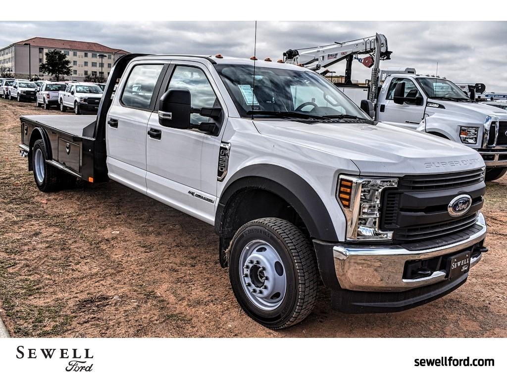 2019 F-550 Crew Cab DRW 4x4, CM Truck Beds Platform Body #958185 - photo 1