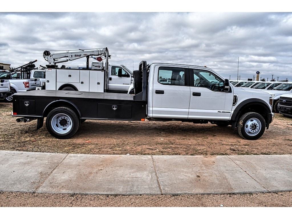 2019 F-550 Crew Cab DRW 4x4, CM Truck Beds SK Model Platform Body #958185 - photo 10