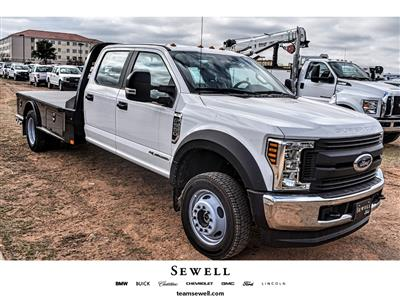 2019 F-550 Crew Cab DRW 4x4, CM Truck Beds SK Model Platform Body #958185 - photo 1