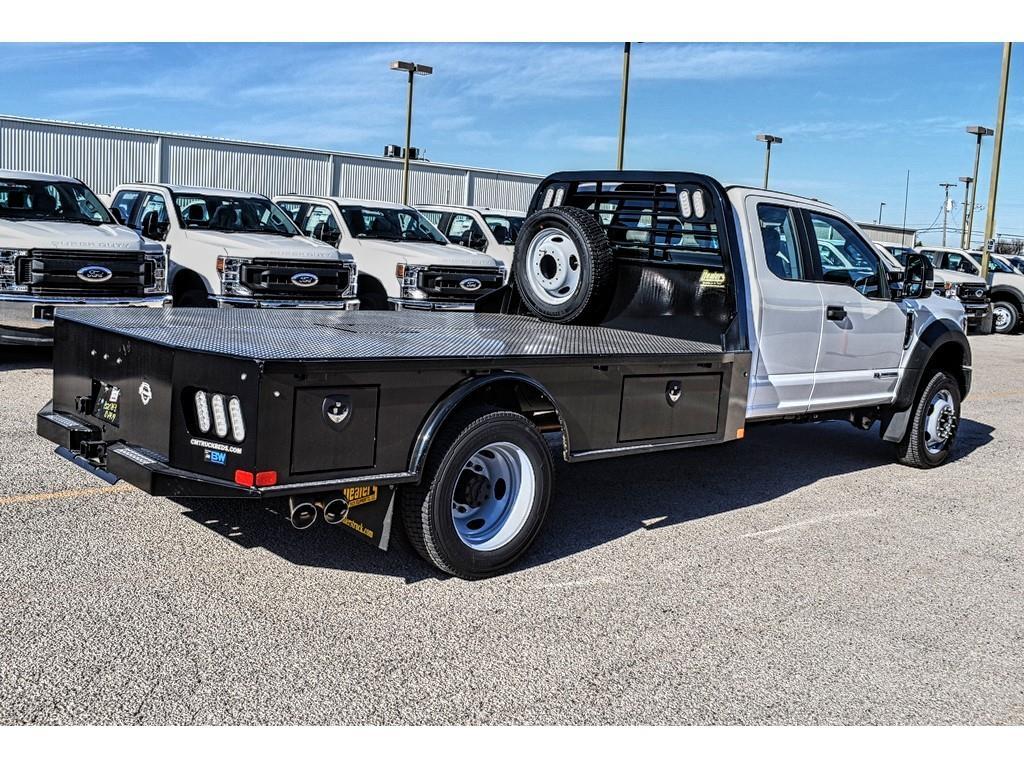 2019 F-550 Super Cab DRW 4x4, CM Truck Beds Platform Body #958204 - photo 1