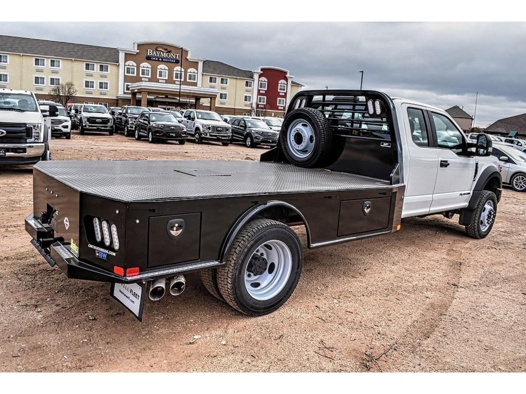 2019 F-550 Super Cab DRW 4x4, CM Truck Beds Platform Body #958205 - photo 1