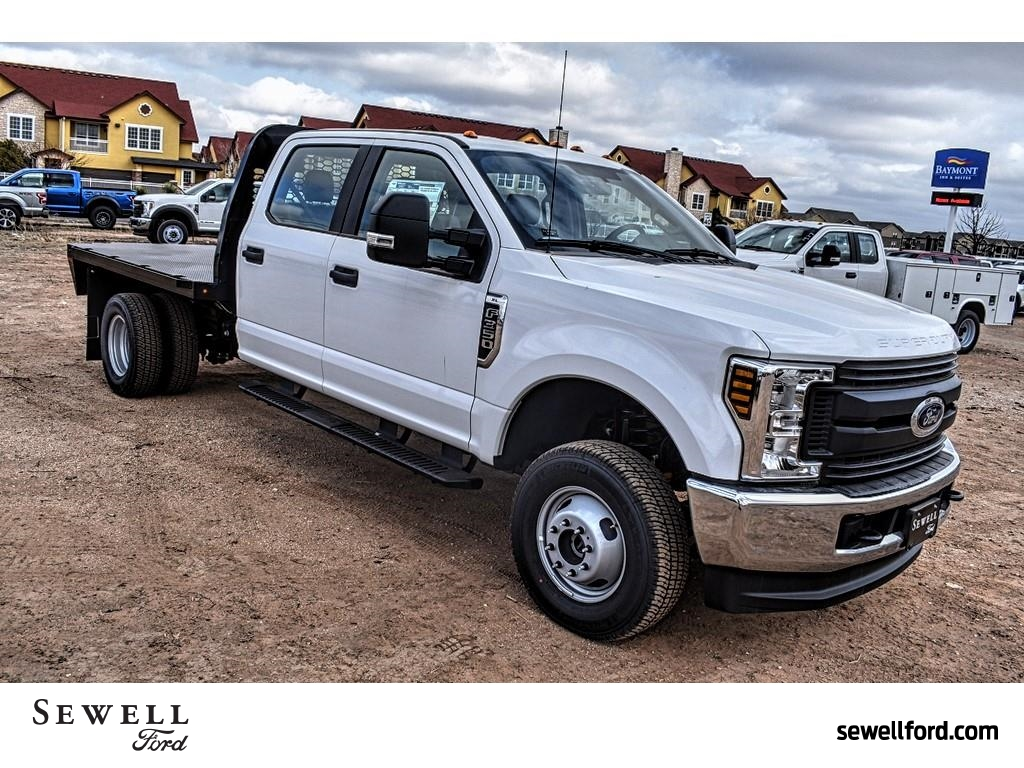 2019 F-350 Crew Cab DRW 4x4, Knapheide Platform Body #958820 - photo 1