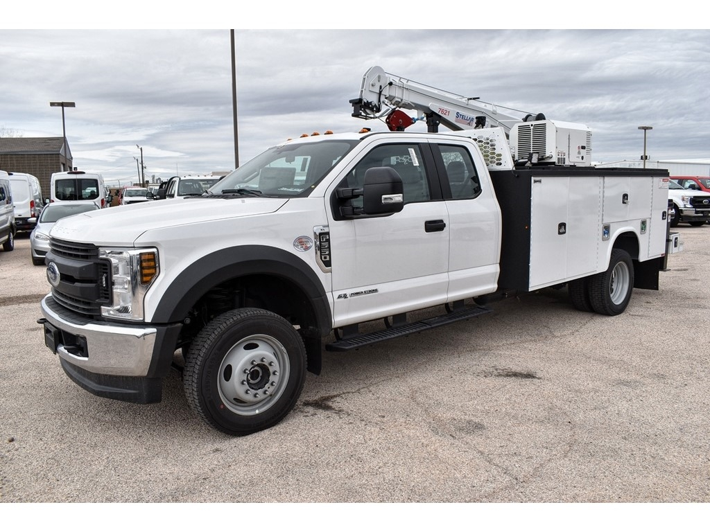 2019 Ford F-550 Super Cab DRW 4x4, Knapheide KMT Mechanics Body #958920 - photo 4