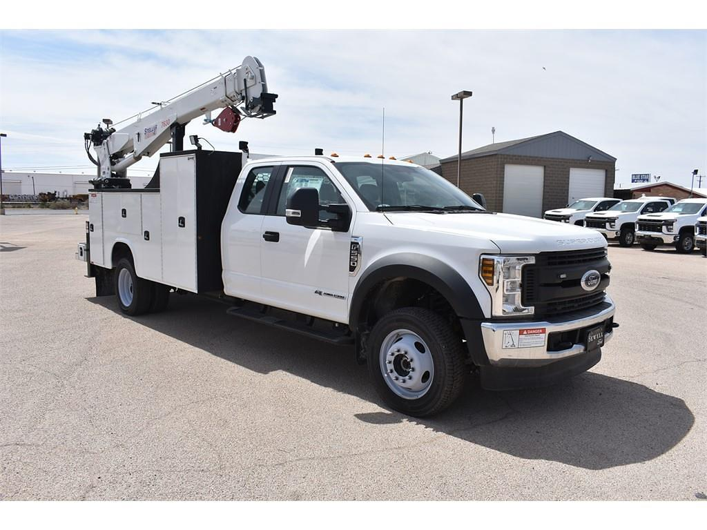 2019 Ford F-550 Super Cab DRW 4x4, Knapheide Mechanics Body #958939 - photo 1