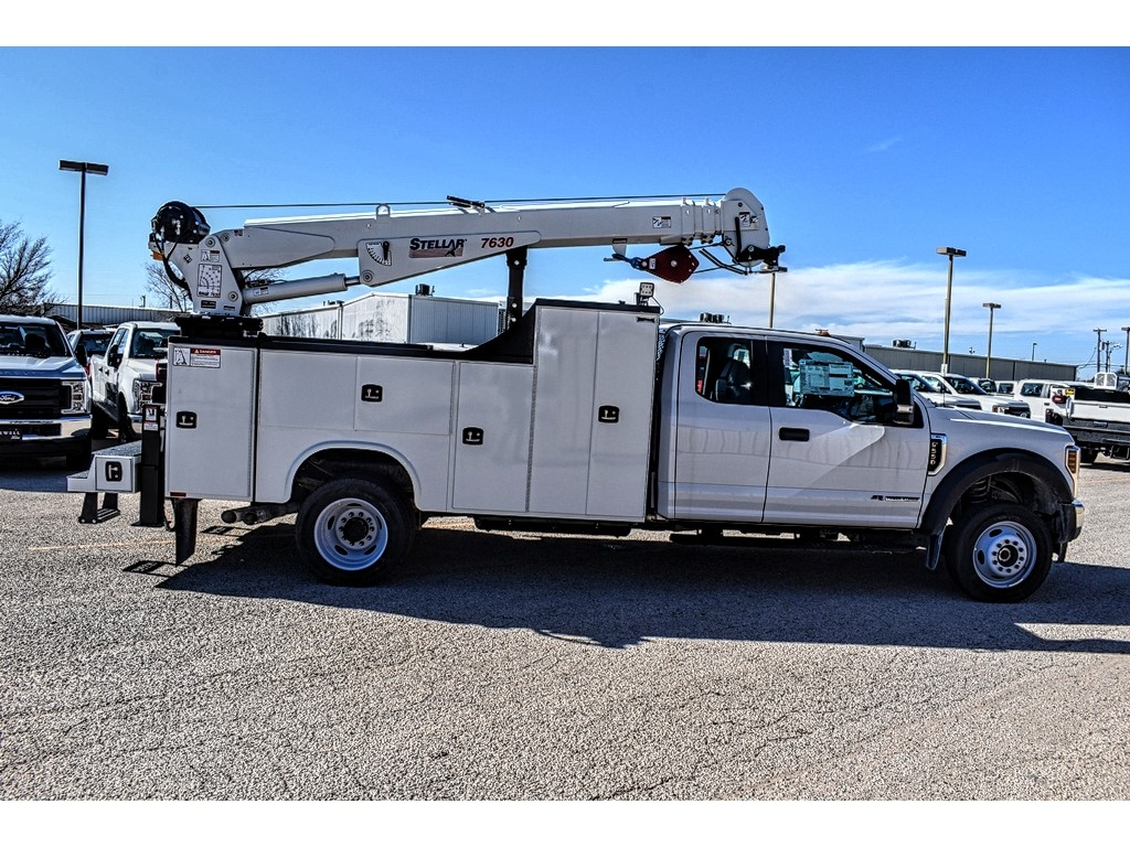 2019 Ford F-550 Super Cab DRW 4x4, Knapheide Crane Body Mechanics Body #958945 - photo 8