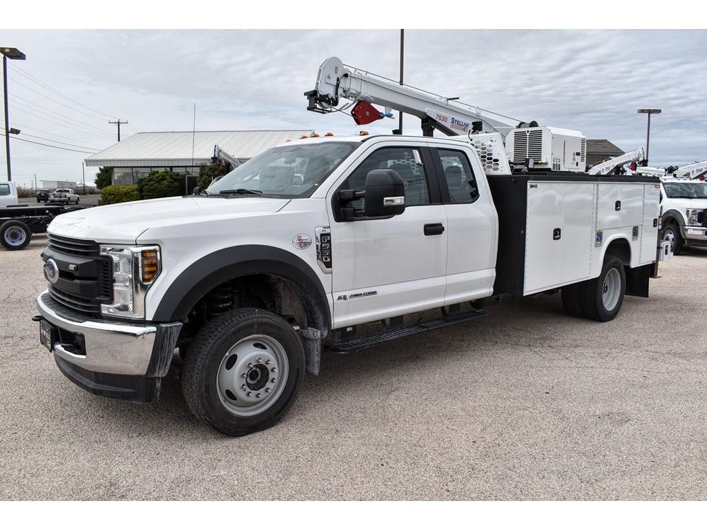 2019 Ford F-550 Super Cab DRW 4x4, Knapheide Crane Body Mechanics Body #958947 - photo 4