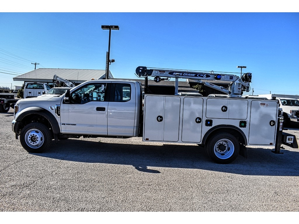 2019 Ford F-550 Super Cab DRW 4x4, Auto Crane Titan Mechanics Body #961715 - photo 5
