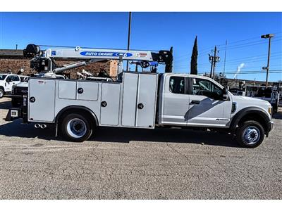 2019 Ford F-550 Super Cab DRW 4x4, Auto Crane Titan Mechanics Body #961715 - photo 8