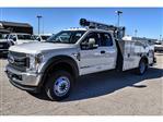 2019 Ford F-550 Super Cab DRW 4x4, Auto Crane Titan Mechanics Body #961715 - photo 4