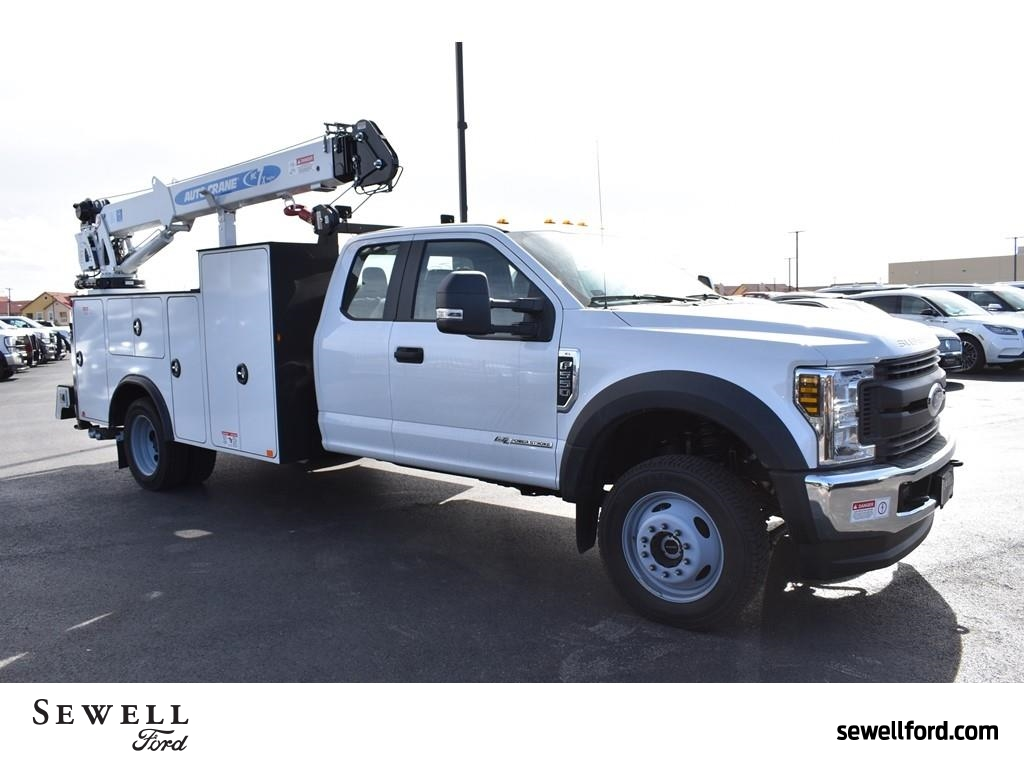 2019 F-550 Super Cab DRW 4x4, Auto Crane Mechanics Body #985523 - photo 1