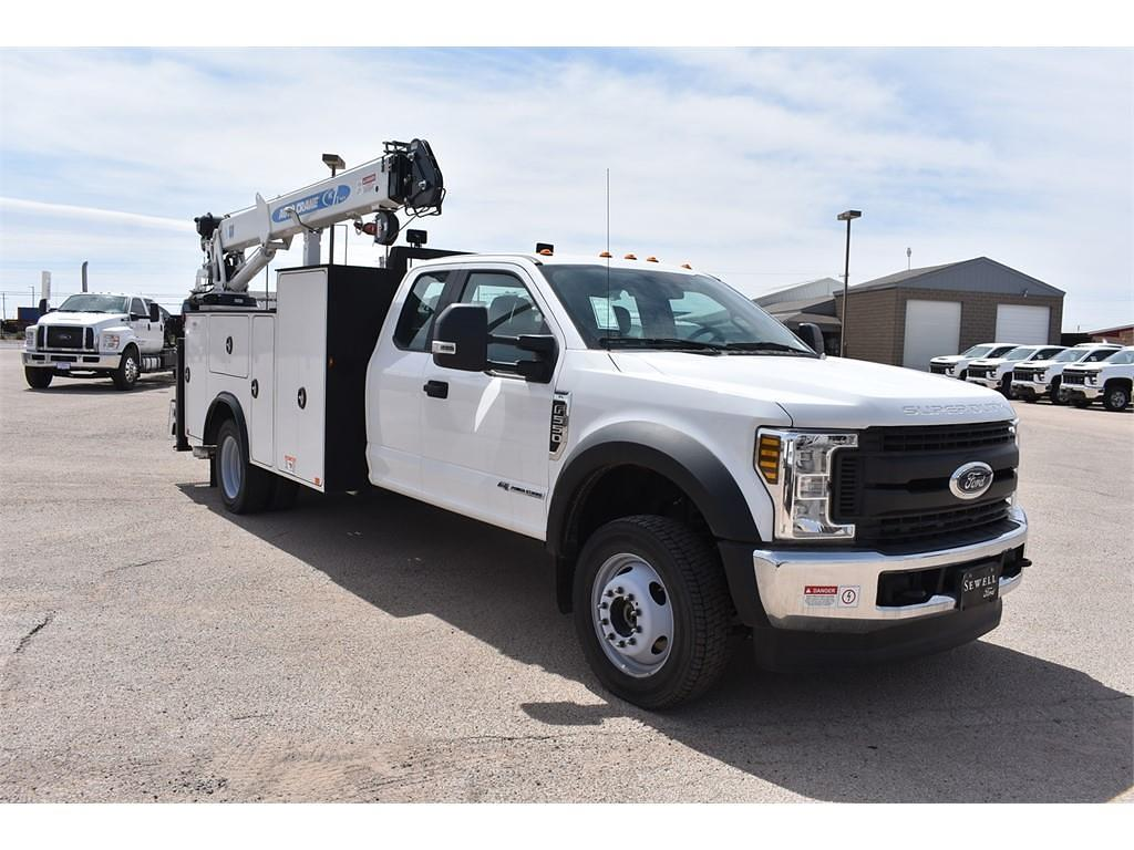 2019 Ford F-550 Super Cab DRW 4x4, Auto Crane Mechanics Body #985523 - photo 1
