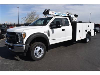 2019 F-550 Super Cab DRW 4x4, Auto Crane Titan Mechanics Body #985523 - photo 4