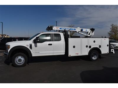 2019 F-550 Super Cab DRW 4x4, Auto Crane Titan Mechanics Body #985523 - photo 6