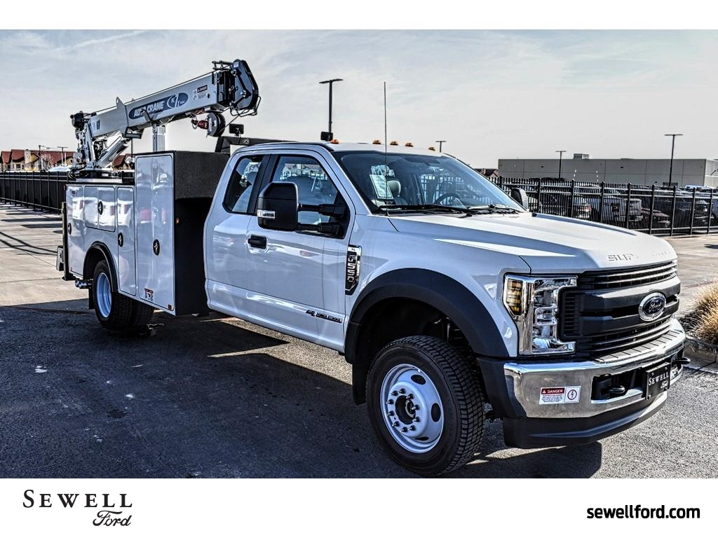 2019 F-550 Super Cab DRW 4x4, Auto Crane Mechanics Body #985524 - photo 1