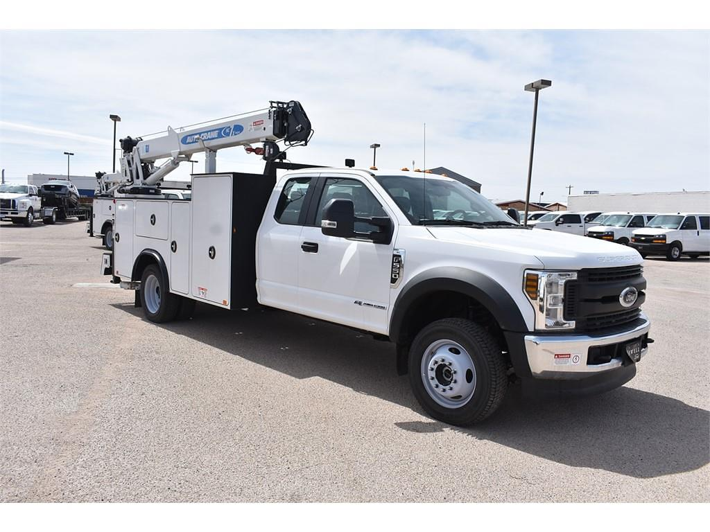 2019 Ford F-550 Super Cab DRW 4x4, Auto Crane Mechanics Body #985525 - photo 1