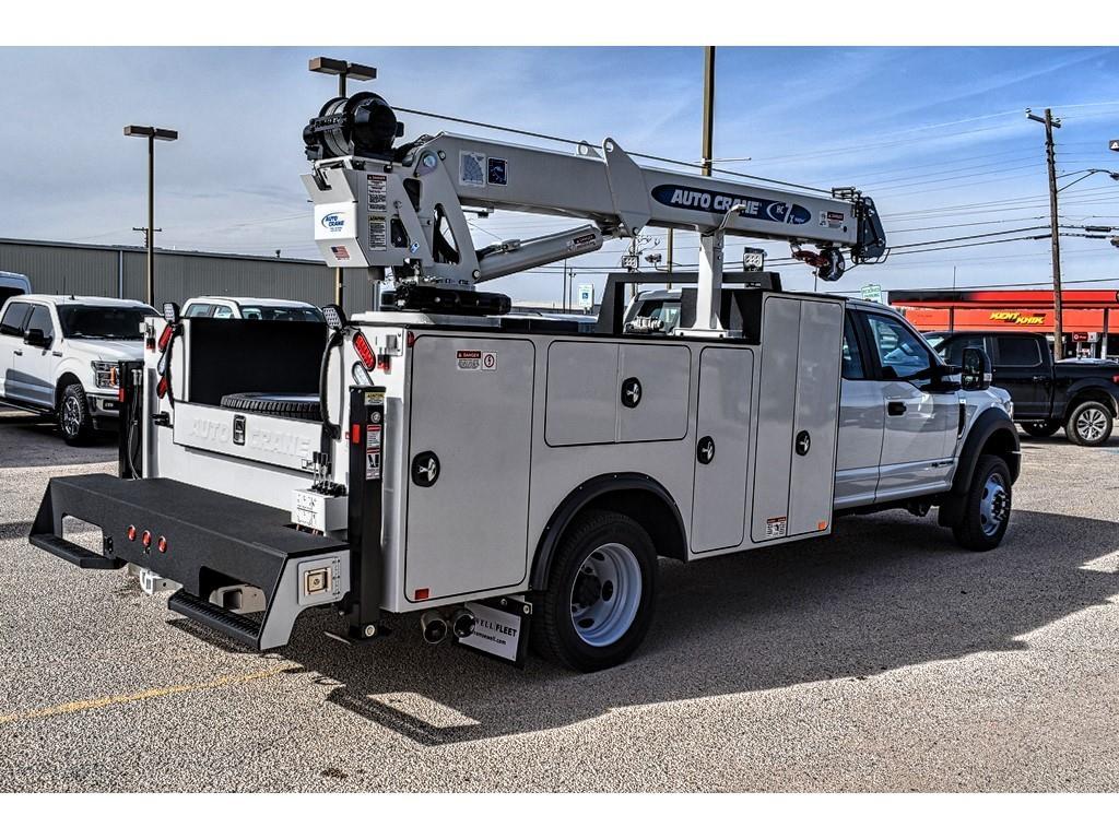 2019 F-550 Super Cab DRW 4x4, Auto Crane Mechanics Body #985525 - photo 1