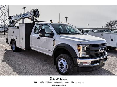 2019 Ford F-550 Super Cab DRW 4x4, Auto Crane Titan Mechanics Body #985525 - photo 1