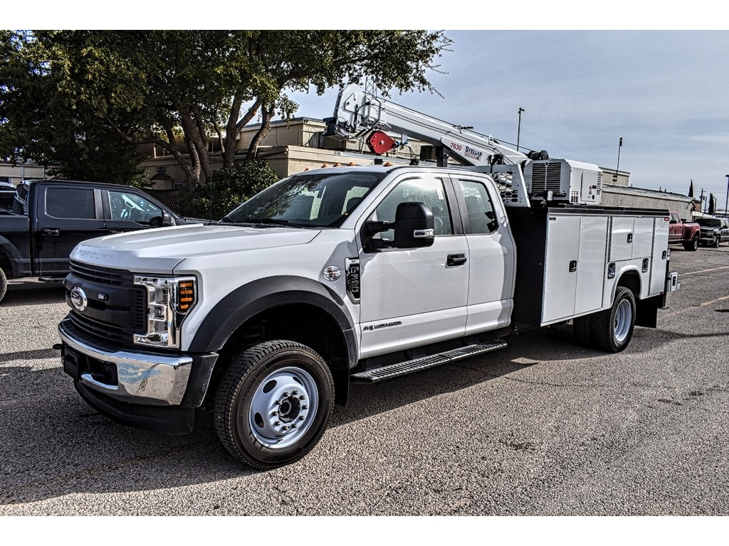 2019 Ford F-550 Super Cab DRW 4x4, Knapheide KMT Mechanics Body #985856 - photo 4