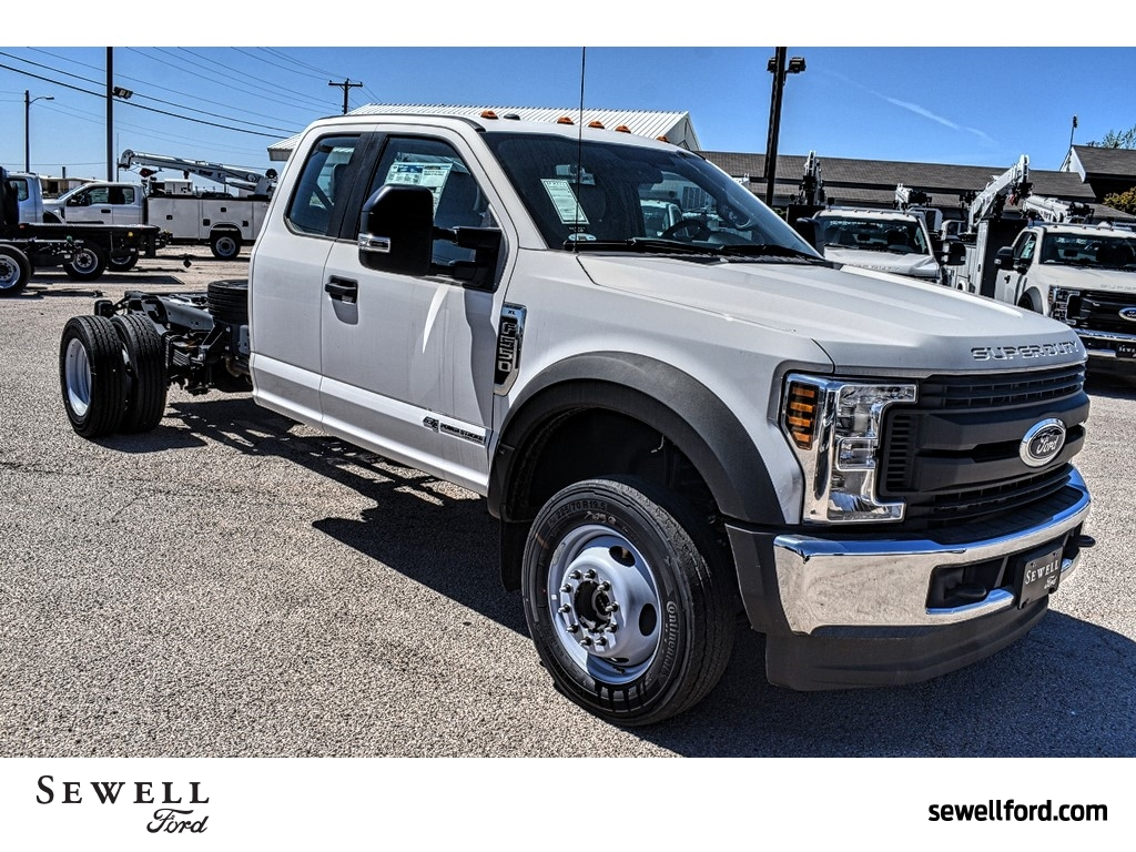 2019 F-550 Super Cab DRW 4x4, Cab Chassis #987705 - photo 1