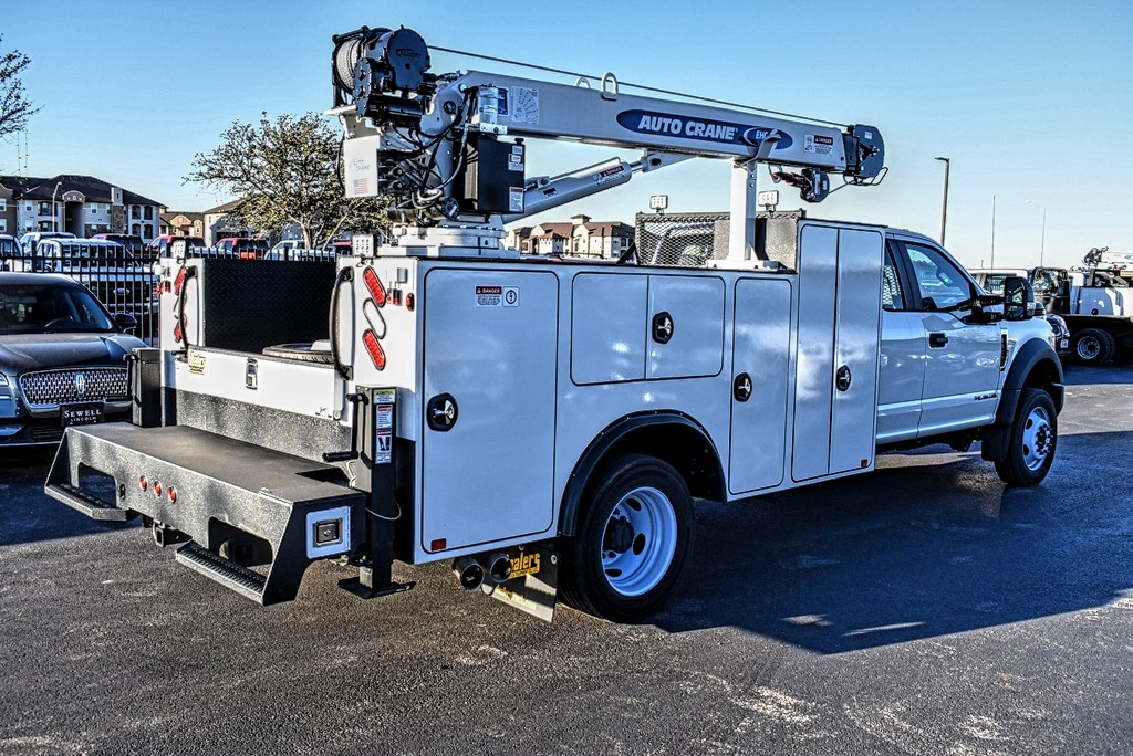 2019 F-550 Super Cab DRW 4x4, Auto Crane Mechanics Body #993348 - photo 1