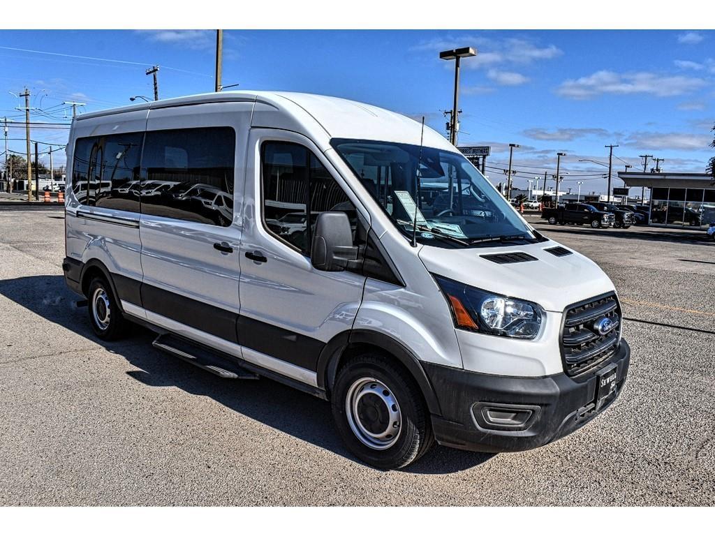 2020 Ford Transit 350 Med Roof 4x2, Passenger Wagon #DL39773 - photo 1
