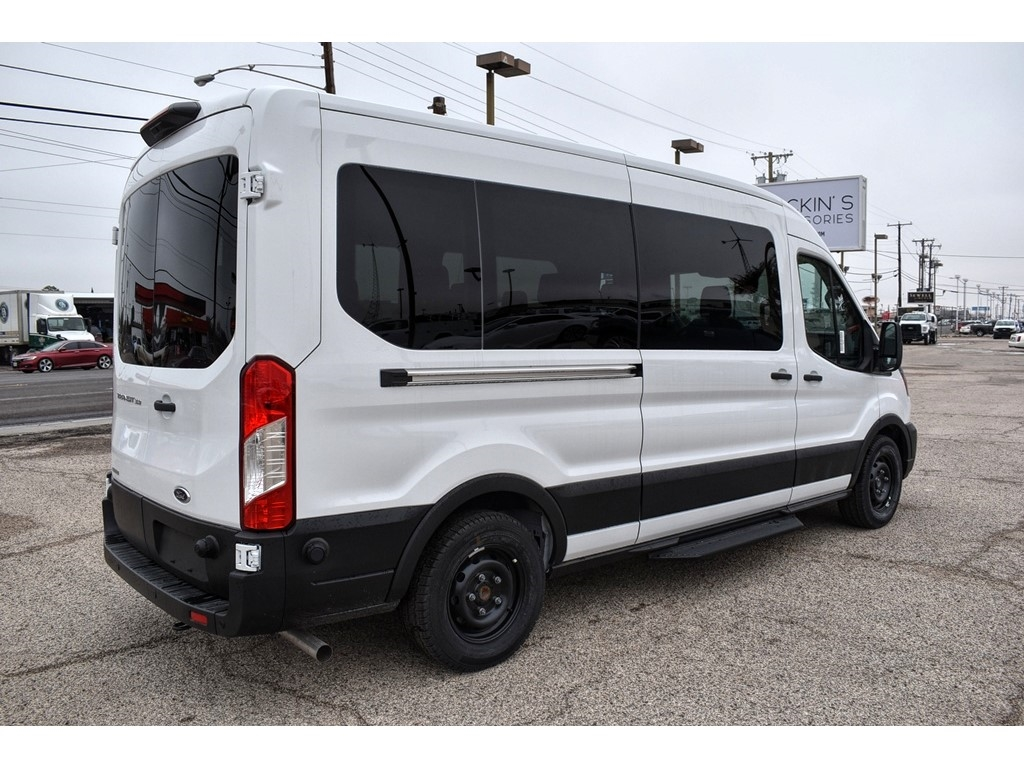 2020 Ford Transit 350 Med Roof RWD, Passenger Wagon #L03737 - photo 1