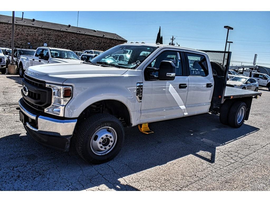 2020 Ford F-350 Crew Cab DRW 4x4, Platform Body #L19547 - photo 4