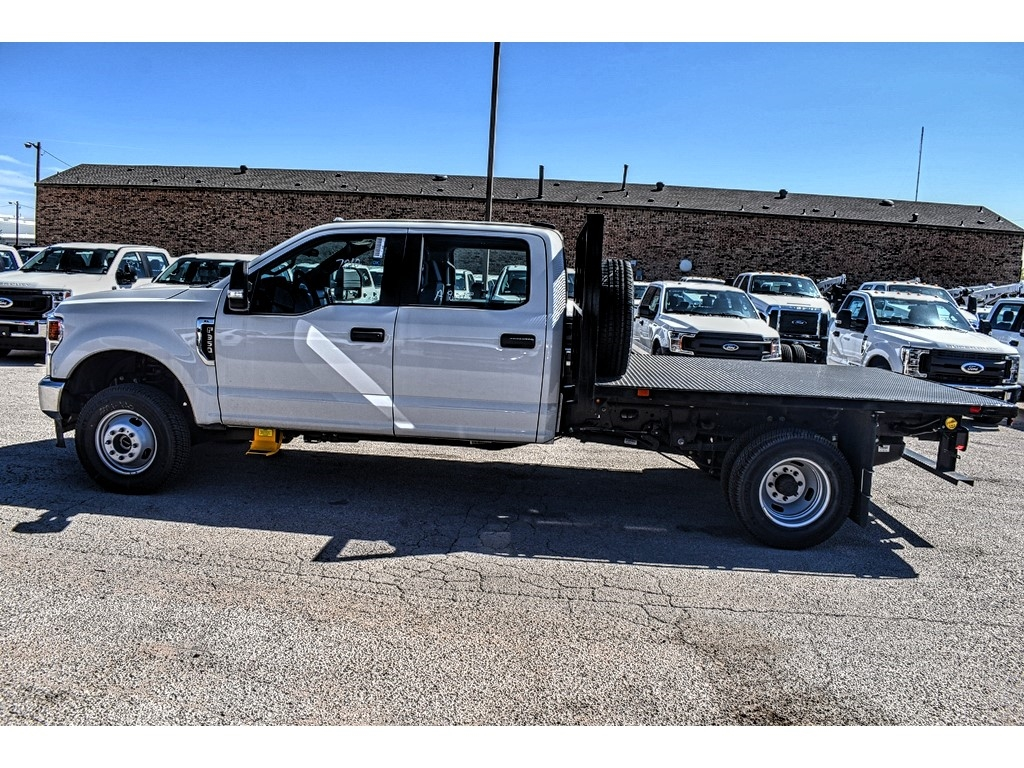 2020 Ford F-350 Crew Cab DRW 4x4, Platform Body #L19547 - photo 5