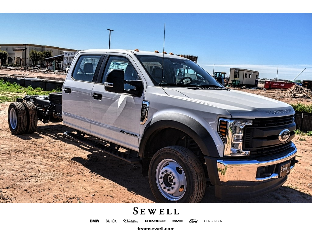 2019 Ford F-550 Crew Cab DRW 4x4, Cab Chassis #M978164 - photo 1