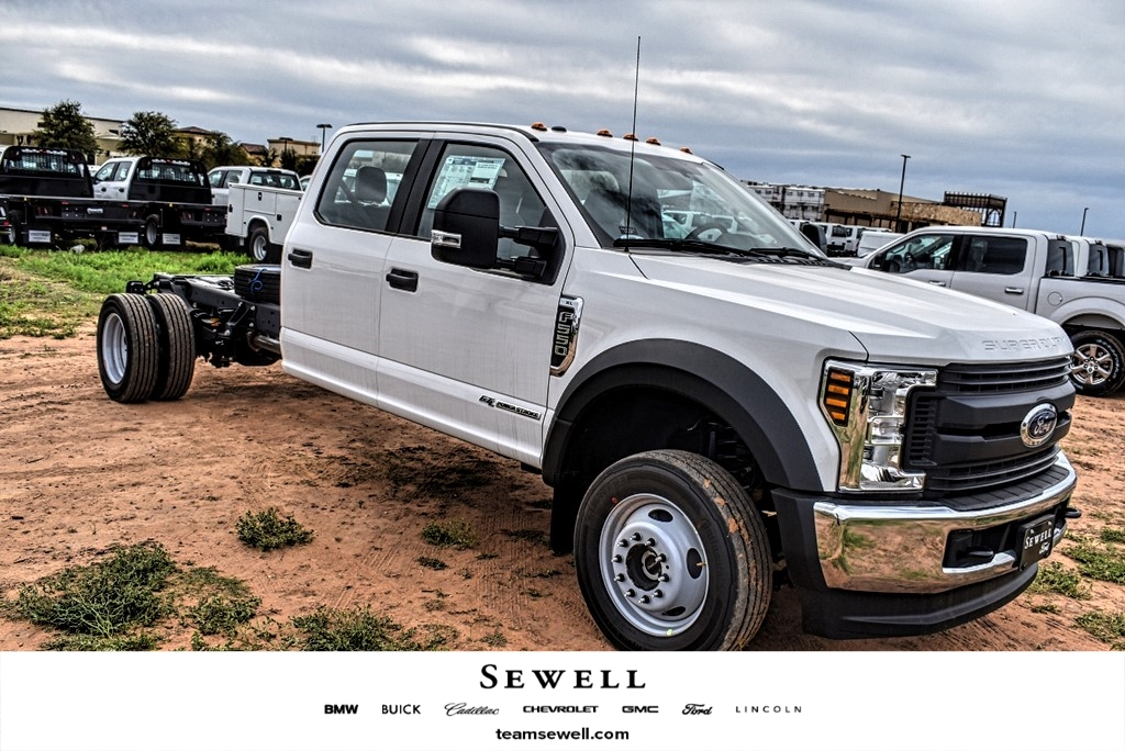 2019 Ford F-550 Crew Cab DRW 4x4, Cab Chassis #M978167 - photo 1