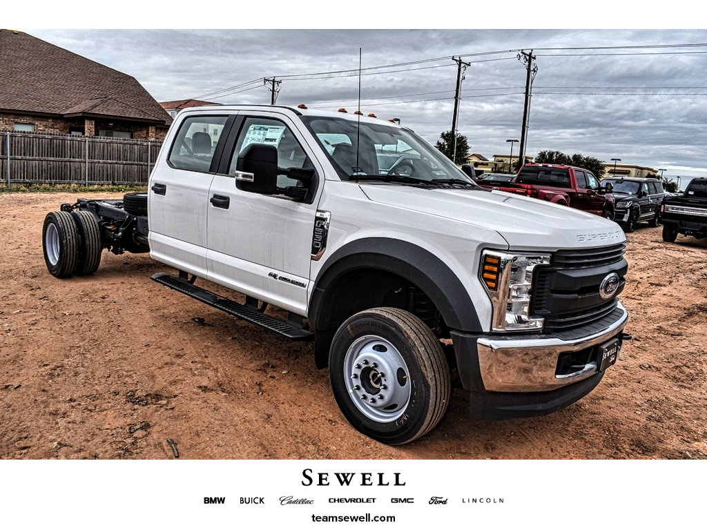 2019 Ford F-550 Crew Cab DRW 4x4, Cab Chassis #M978169 - photo 1