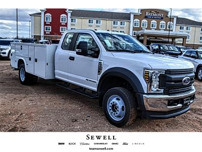 2019 Ford F-550 Super Cab DRW 4x4, Knapheide Steel Service Body #M978989 - photo 1